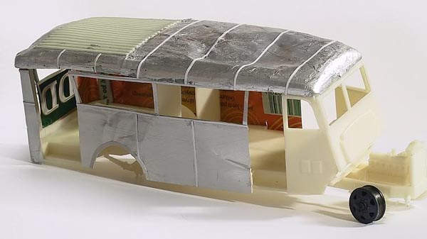 Airpress early wehrmacht Blitz Bus by Piet van Hees